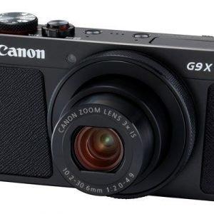 Canon Powershot G9 X Mark Ii Musta