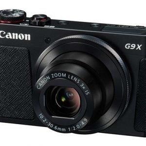 Canon Powershot G9 X Musta