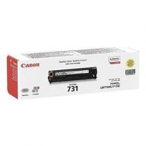Canon Värikasetti Keltainen 731 1