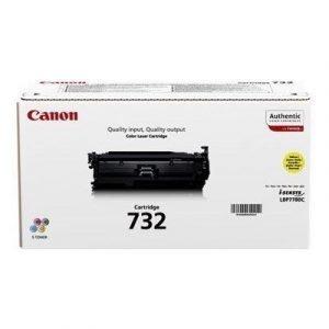 Canon Värikasetti Keltainen 732 6