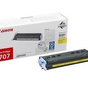 Canon Värikasetti Keltainen Crt-707 Lbp5000