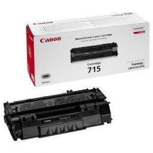 Canon Värikasetti Musta 715 3k Lbp3370/3310