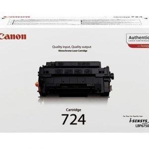 Canon Värikasetti Musta 724 6k 7650dn
