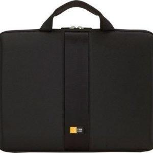 Case Logic 13.3 Hard Shell Laptop Sleeve 13.3tuuma Muottinpuristettu Eva Musta