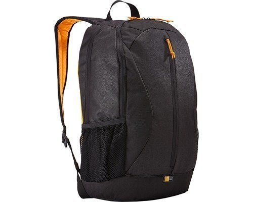 Case Logic Ibira Backpack 24l Musta Keltainen 16tuuma