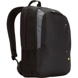 Case Logic Laptop Backpack Musta Harmaa 17.3tuuma