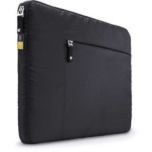 Case Logic Sleeve + Pocket 13tuuma Neoprene Musta