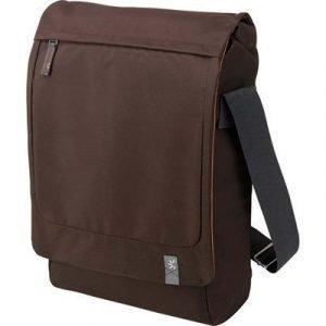Case Logic Urban Messenger Bag Vertical 15.4tuuma Nailon Ruskea
