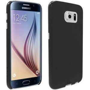 Case Mate Barely There Takakansi Matkapuhelimelle Samsung Galaxy S6 Musta