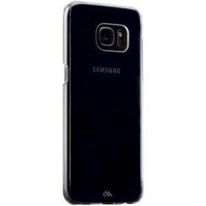 Case Mate Barely There Takakansi Matkapuhelimelle Samsung Galaxy S7 Edge Väritön