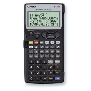 Casio Calculator Fx-5800p