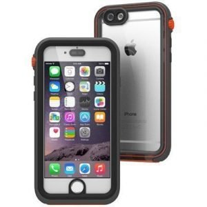 Catalyst Waterproof Case Iphone 6 Plus/6s Plus Musta Oranssi