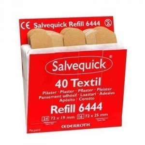 Cederroth Salvequick Textile Patches 6 Refill/box (6444)
