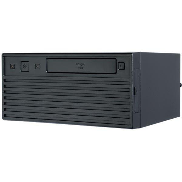 """Chieftec UNI Mini-ITX jossa 180W virtalähde 1x5 25 1x3 5"""" musta"""""""