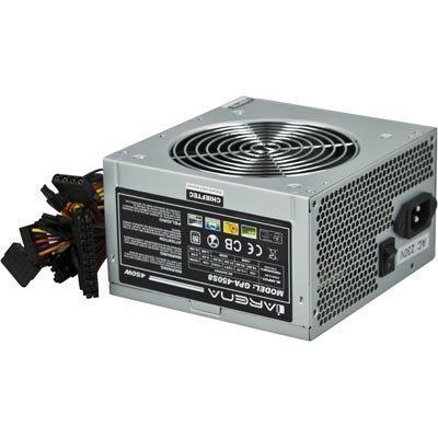 Chieftec iARENA virtalähde 450W ATX12V ver 2.3 akt PFC 120mm PCI-E