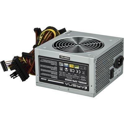 Chieftec iARENA virtalähde 500W ATX12V ver 2.3 akt PFC 120mm PCI-E