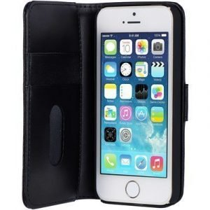 Cirafon Genuine Leather Wallet Iphone 5/5s/se Musta