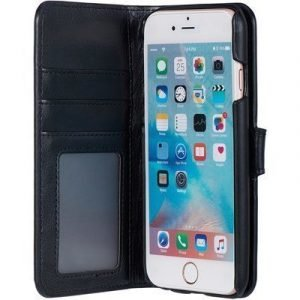 Cirafon Genuine Leather Wallet Magnet Iphone 6/6s Musta