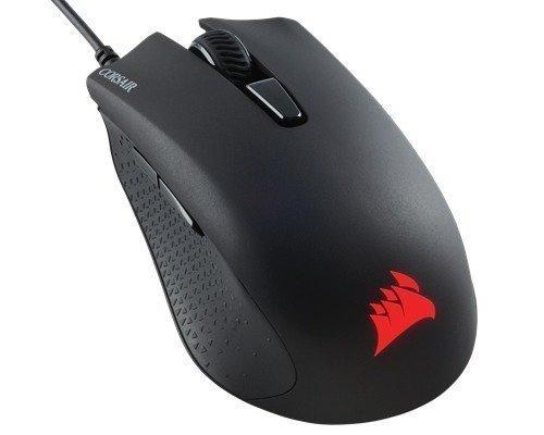 Corsair Gaming Mouse Harpoon Rgb Hiiri Musta Punainen