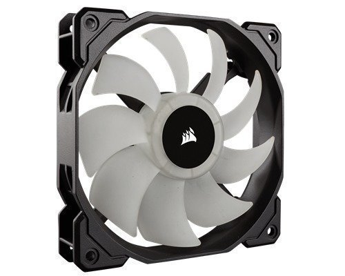 Corsair Sp120 Rgb Led Static Pressure Fan With Controller 120 Mm