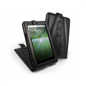 Creative ZiiO 7 Tuff-Luv Tri-Axis Leather Case Black