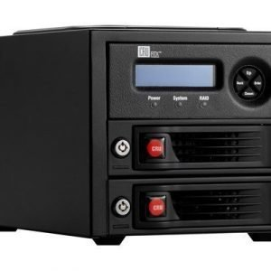 Cru-dataport Rtx220-3qr Us Plug 3.5 Usb 2.0 Usb 3.0 Esata Firewire Musta