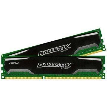 Crucial BLS2CP4G3D1609DS1S00 Ballistix Sport DDR3 Ram Muisti 16Gt