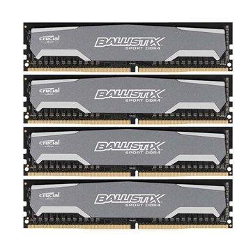 Crucial BLS4C4G4D240FSA Ballistix Sport DDR4 RAM Muisti 4 X 4GB