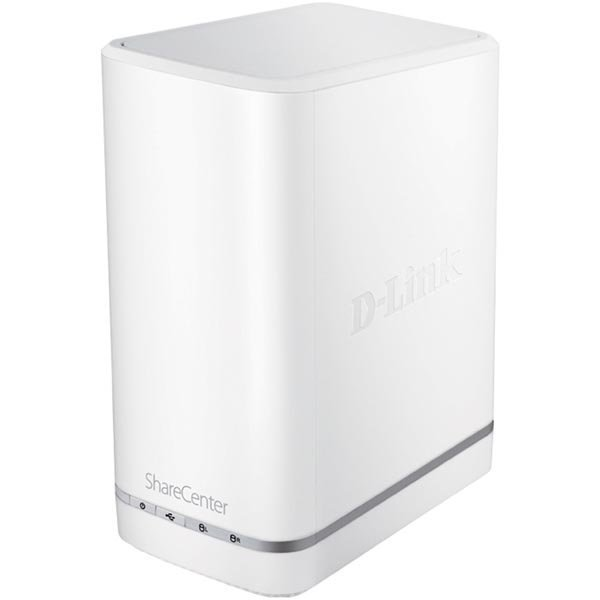 D-LINK Share Center 2-Bay NAS Gigabit 2x 3 5SATA RAID 0/1/JBOD val""