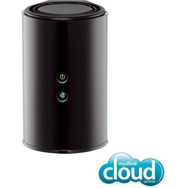 D-Link Cloud Gigabit Router N600 Langaton reititin 600Mbps musta