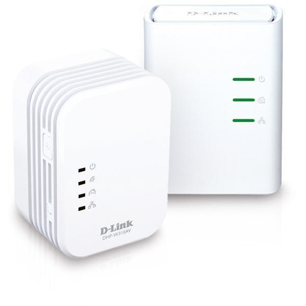 D-Link PowerLine AV 500 Wireless N Mini Starter Kit QoS