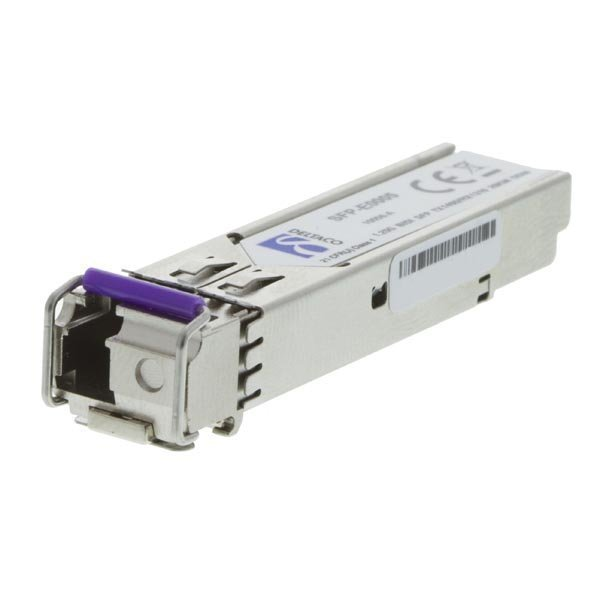 DELTACO SFP 1000BASE-BX10-D LC 1490tx/1310rx 10km Single-Mode DOM