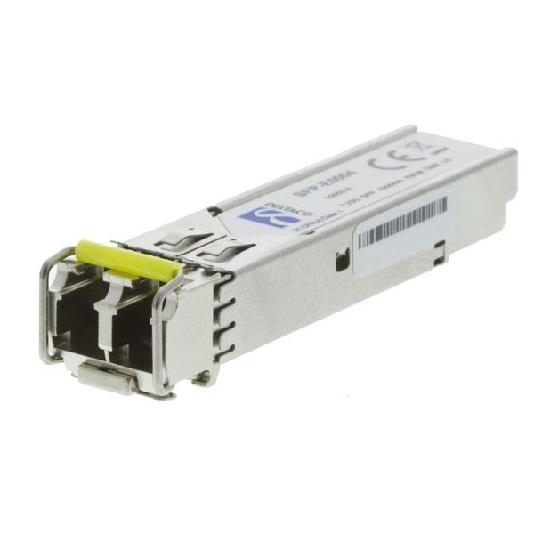 DELTACO SFP 1000Base-ZX LC 1550nm 80km Single-Mode DOM Ext temp