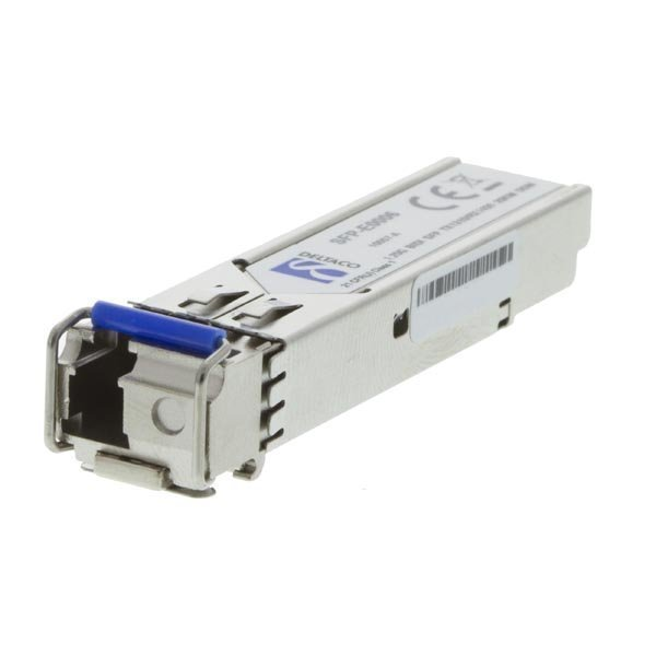 DELTACO SFP 100BASE-BX10-U LC 1310tx/1550rx 10km Single-Mode