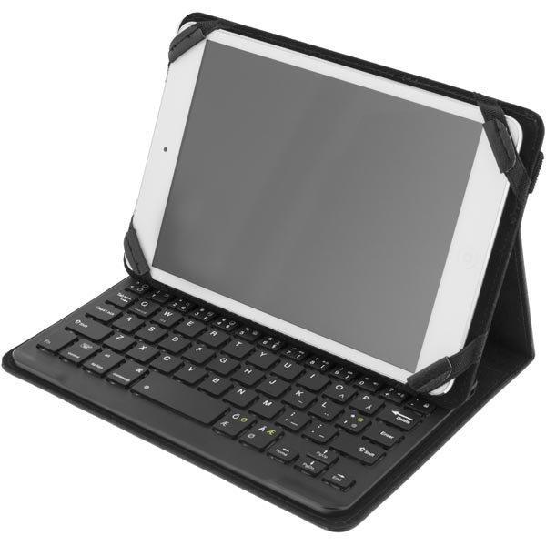 """DELTACO Suojus ja Bluetooth näppäimistö 7 tableteille musta"""""""