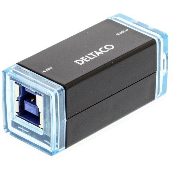DELTACO USB 3.0 jatke aktiivinen max 3m