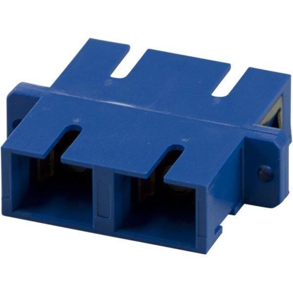 DELTACO kuitu jatkokap SC-SC singlemode duplex keraam muovi