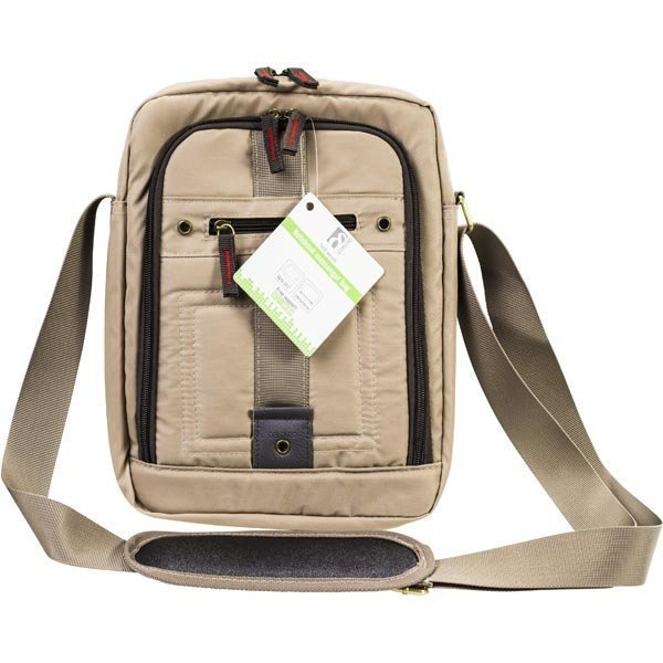 "DELTACO notebooklaukku nylon 10.1 olkahihna vaal.ruskea"""