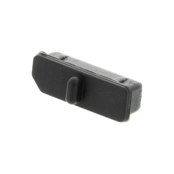DELTACO pölysuoja DisplayPort-liittimelle 10-p musta