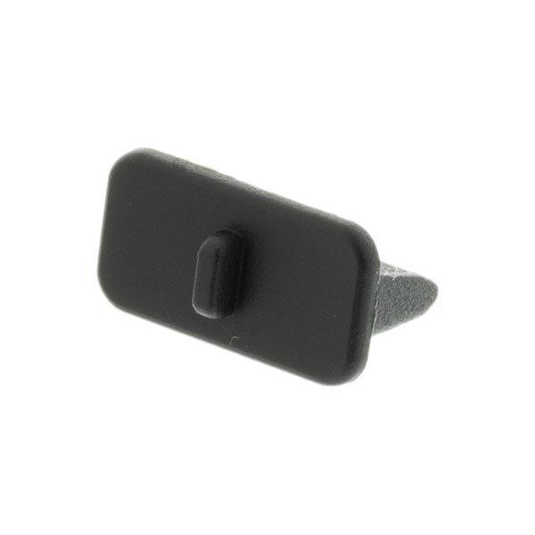DELTACO pölysuoja USB-liittimille 10-p musta