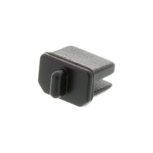 DELTACO pölysuoja mini DisplayPort-liittimelle 10-p musta