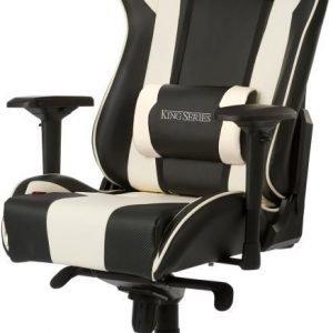 DXRacer KING Gaming Chair - Black/White