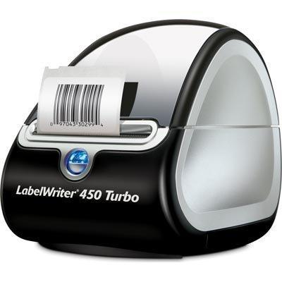 DYMO LabelWriter 450 Turbotarratulostin USB PC&Mac 71etik/min