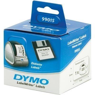 DYMO LabelWriter osoite-etikettejä 70x54 mm 1-pakk (320 kpl)