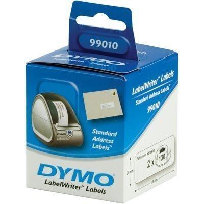 DYMO LabelWriter osoitetarra 89x28 mm 2-pakk (260 kpl)