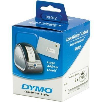DYMO LabelWriter osoitetarra 89x36 mm 2-pakk (520 kpl)
