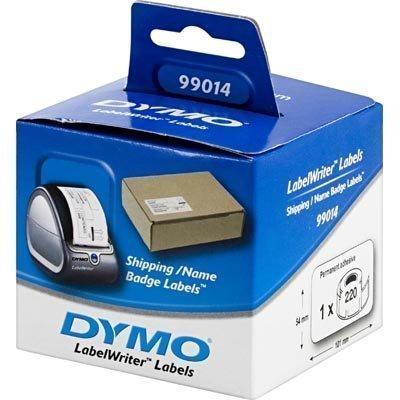 DYMO LabelWriter rahtitarra 101x54 mm 1-pakkaus(220 kpl) valk