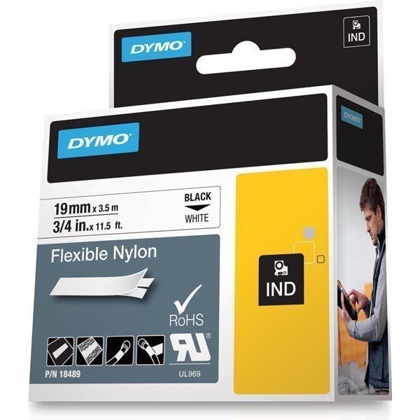 DYMO Rhino Professional joustava merkkausteippi nyloni 19 mm