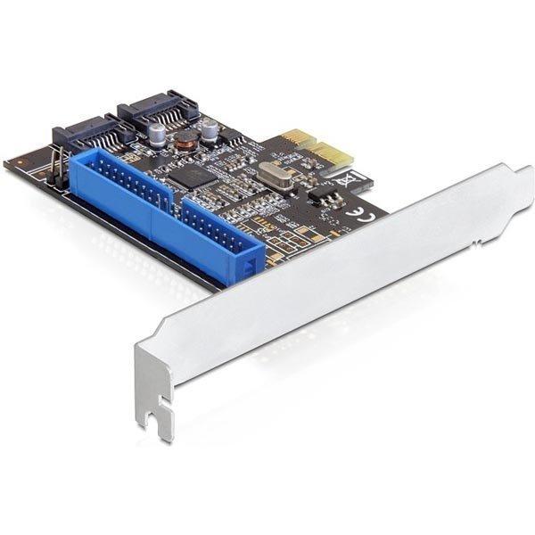 DeLOCK ohjainkortti PCI-Express x1 SATA 6Gb/s 2xSATA 1xIDE