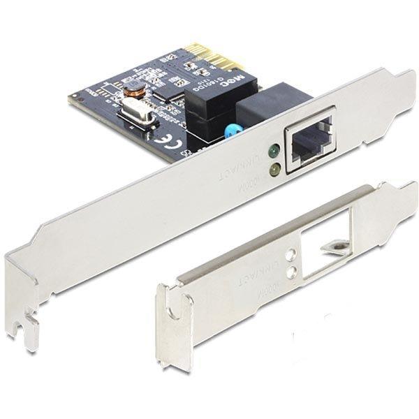 DeLOCK verkkokortti PCI-Express x1 GBLAN 1x RJ45